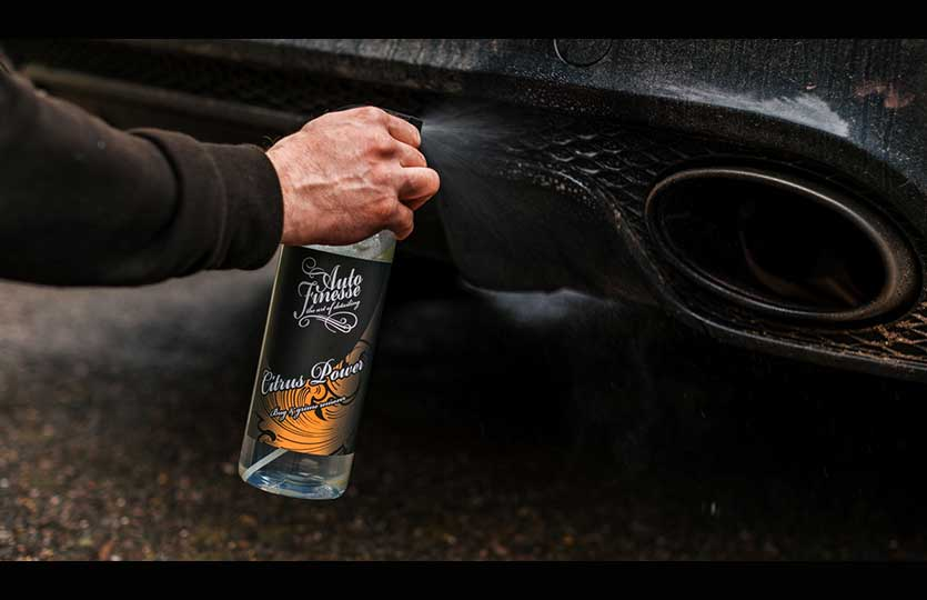 The best way to remove daily road grime