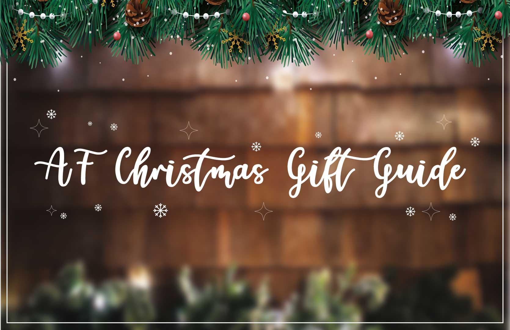 AF Christmas Gift Guide