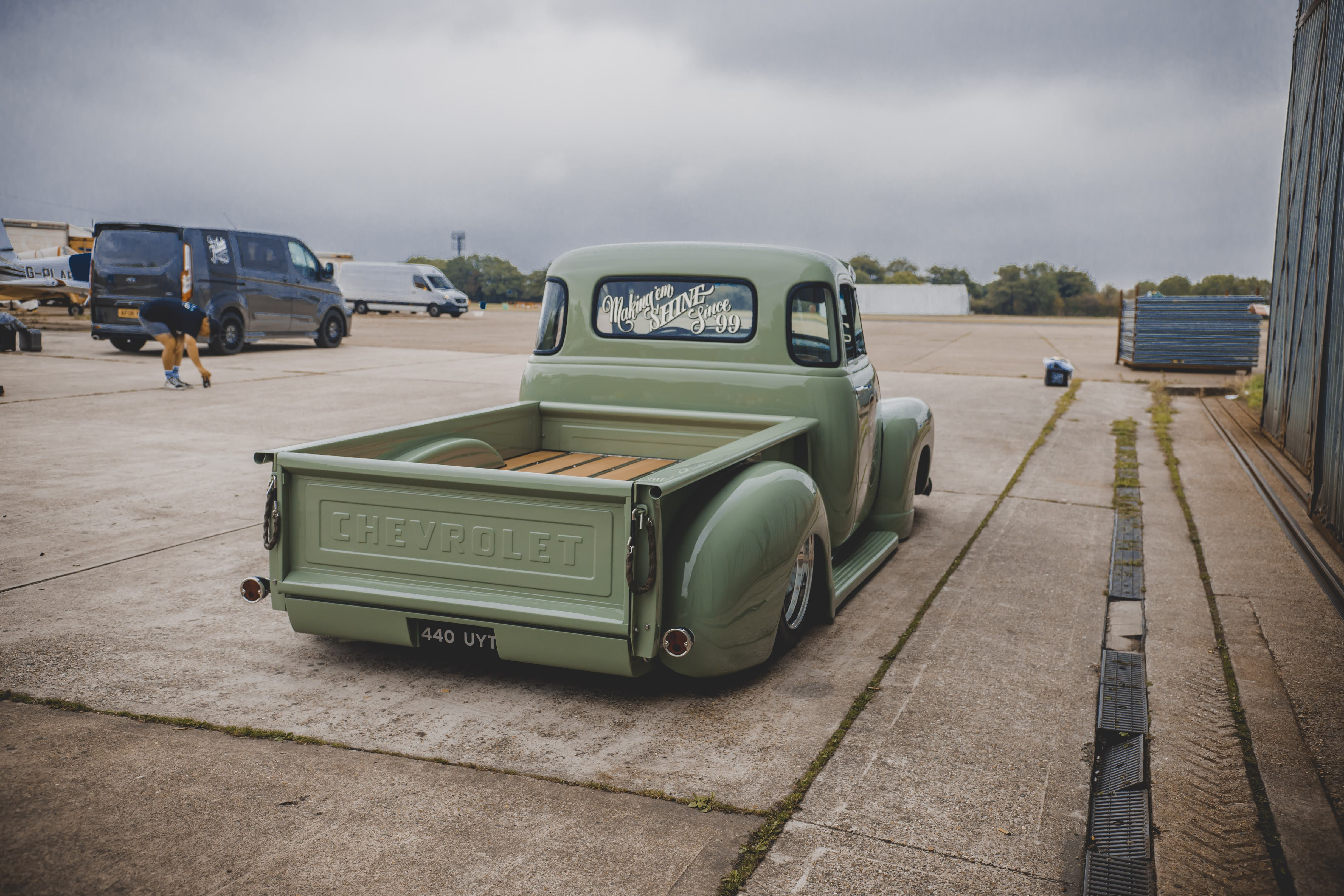 Project Stepside – The build