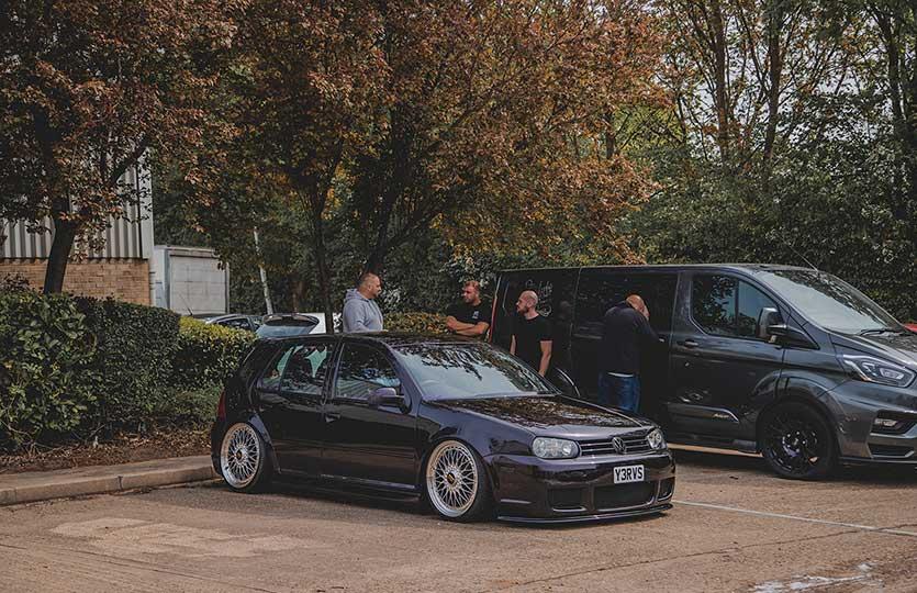 Yerv 'John' Bogosvan's Mk4 Golf
