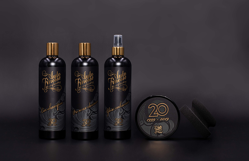 Auto Finesse 20th anniversary Special Edition kits