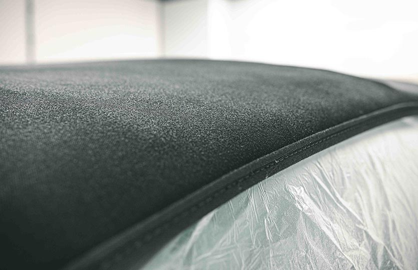 How to clean and protect your convertible fabric roof
