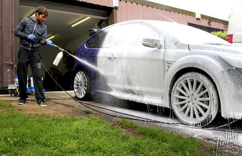 Snow Foam How To